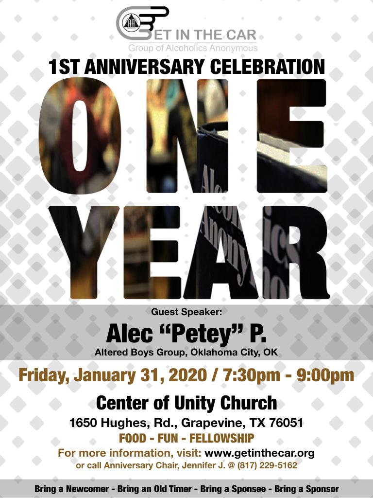 Flyer Gitc 1st Anniversary